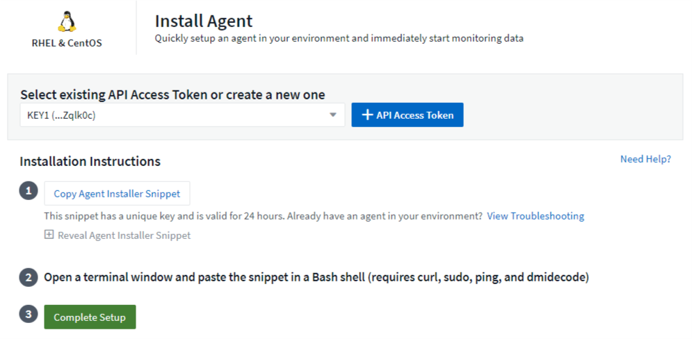 Configuring an Agent to Collect Data | NetApp Cloud Docs