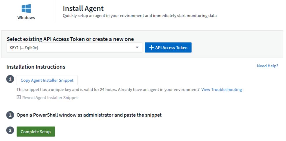 Configuring an Agent to Collect Data | NetApp Cloud Docs