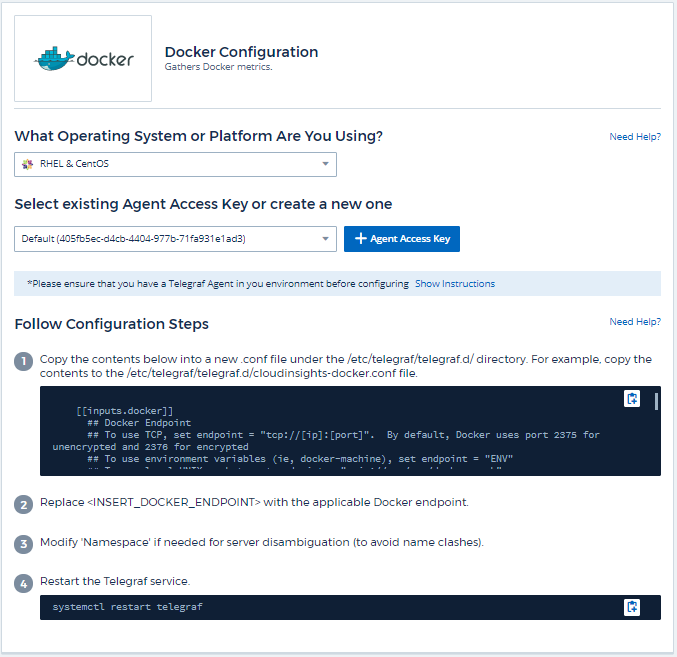 Docker Data Collector | NetApp Cloud Docs
