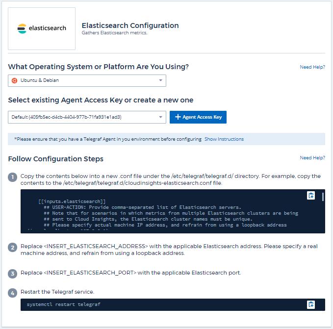 Elasticsearch Data Collector | NetApp Cloud Docs