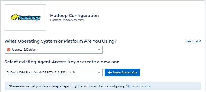 Hadoop Data Collector   NetApp Cloud Docs