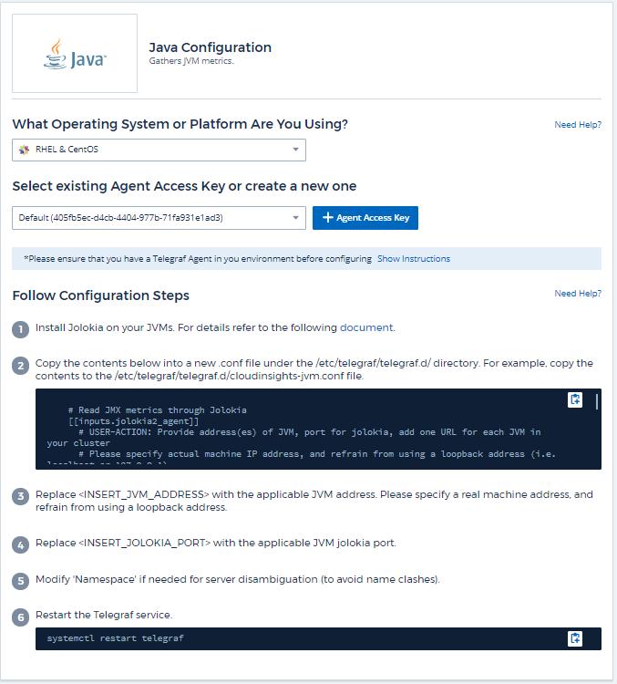 JVM Data Collector | NetApp Cloud Docs