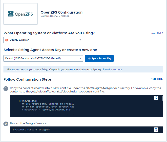 OpenZFS Data Collector | NetApp Cloud Docs